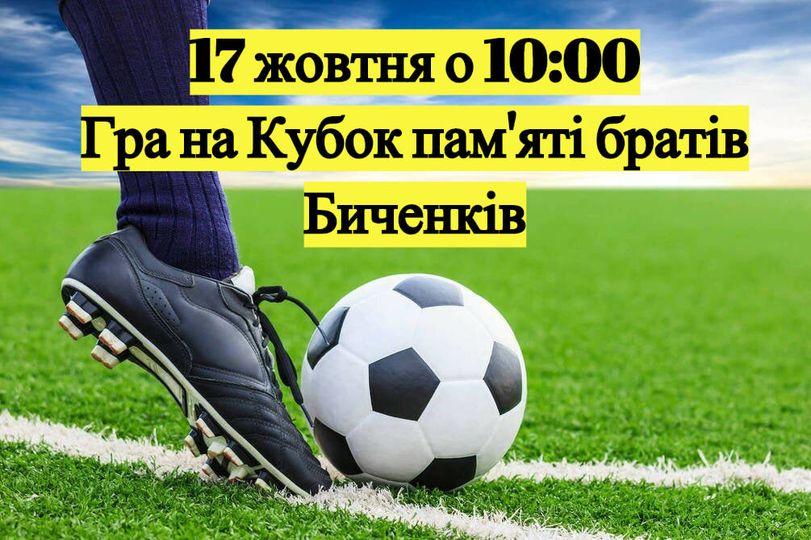 Великий футбол у Близнюківській громаді!