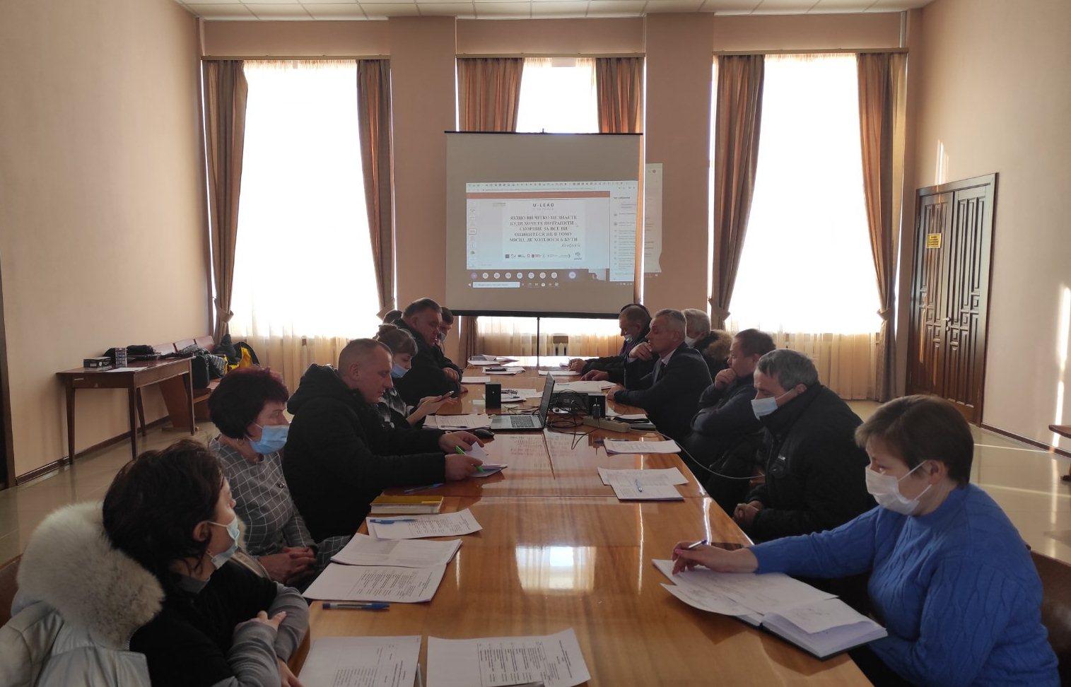 Перше засідання робочої групи з розроблення Стратегії розвитку Близнюківської  громади