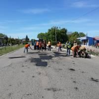 ямковий ремонт доріг, 2017