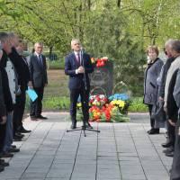 Виступ Голови на офіційному заході пам'яті жертв на ЧАЕС