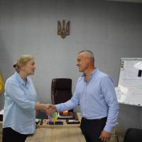 Зустріч Близнюківського селищного голови з журналістом із США
