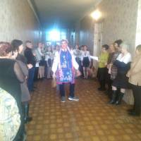 Колядники у Близнюківській селищній раді!