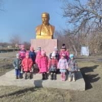 Пам'ятник Шевченку в с. Костянтинівка (Шевченківські Дні)