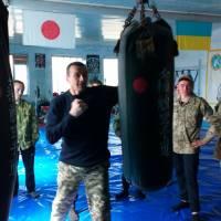спортивна зала Горностаївського відділу поліції