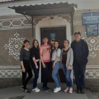 2-й день навчально-польових зборів (дівчатка)