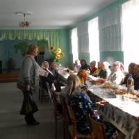 До Дня людей похилого віку вітання в Будинку культури