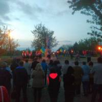 День Пам'яті (8 травня 2017 року с. Костянтинівка, факельна хода до пам'ятника Невідомому солдату)