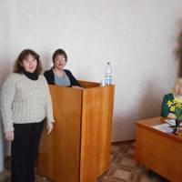 Директор  Каланчацької загальноосвітньої школи Пономарьова О.Б. представляє роботу вчителя англійської мови Васютинської С.І.№1 Васютинськії С.І.