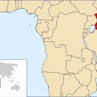 На карті Африки
