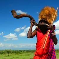 Житель Кенії