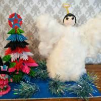 Назва роботи: «Різдвяні гості» Виконавець: Димар Герман, учень Долинської ЗОШ І – ІІІ ступенів