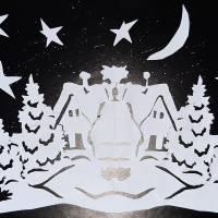 Назва роботи: «Новорічна ніч» Виконавець: Картавець Дмитро,  учень  Новонаталівської ЗОШ І – ІІ ступенів
