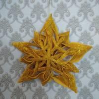 Назва роботи: «Різдвяна зірка» Виконавець: Цуркан Єлизавета, учениця Долинської ЗОШ І – ІІІ ступенів