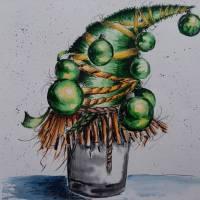 Назва роботи: «Зелена красуня» Виконавець: Ліфінцева Анастасія, учениця Хрестівської  ЗОШ І – ІІІ ступенів