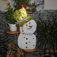 Назва роботи: «Сніговик» Виконавець: Рагімова Лейла,  учениця  Надеждівської ЗОШ І – ІІІ ступенів
