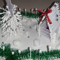 Назва роботи: «Зимова казка» Виконавець: Мурадов Умід, учень Хрестівської  ЗОШ І – ІІІ ступенів