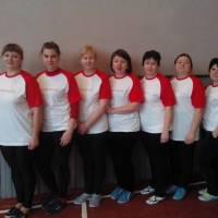 Жіноча волейбольна команда села