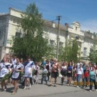 колектив школи завітав на мітинг