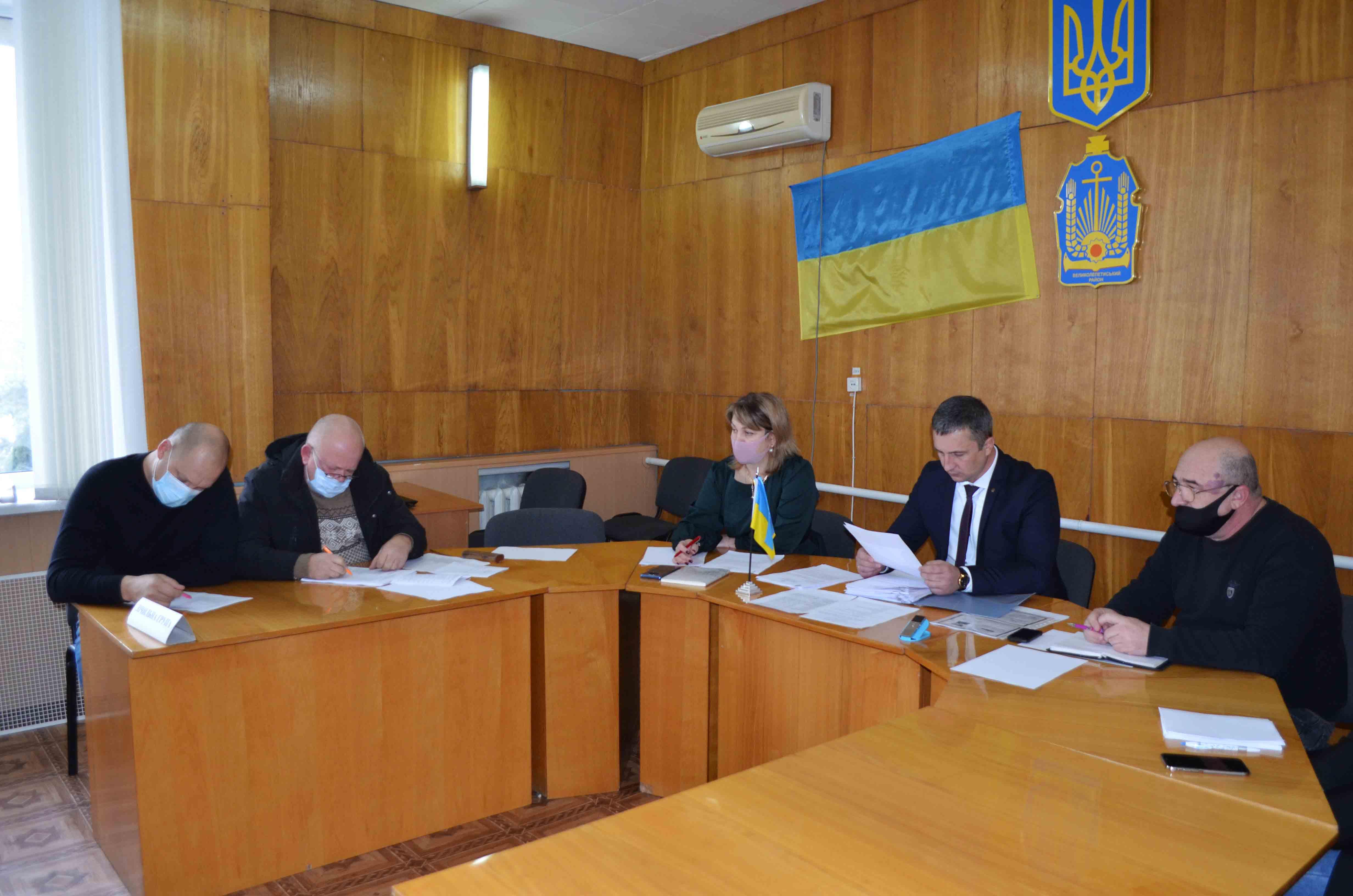засідання четвертої сесії селищної ради