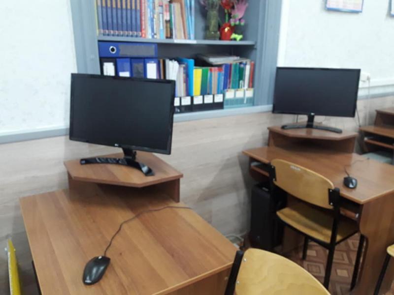 Брилевской школе обновили компьютеры