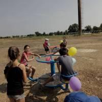 Відкриття дитячого майданчика с.Мирне