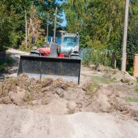 Поточний ремонт доріг комунальної власності. Вулиці Тиха та Соснова