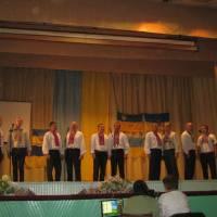 Виступ чоловічої вокальної групи