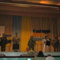 Виступ Зеленівського СБК з піснею