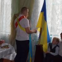 Призовник Мудь Д.В. дає присягу на вірність народу України