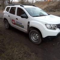 Автомобіль Наркевицького центру ПМСД