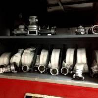 відсіки пожежного автомобіля АЦ40