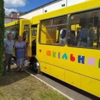 Новий шкільний автобус Іванковецький ліцей 13.08.2020