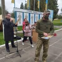 Святкування Покрови Пресвятої Богородиці, Дня козацтва та Дня захисника України у ВЧ 3013 (2020)