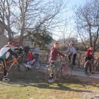Велостоянка в Мар'янівській гімназії
