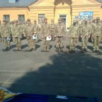 Урочиста зустріч військовослужбовців з районів проведення АТО