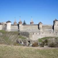 фортеця з сторони с.Смотрич