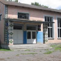 Приміщення сільського клубу та бібліотеки