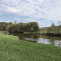 річка Случ в селі Коржівка