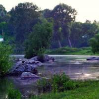 річка Случ в селі Старий Остропіль