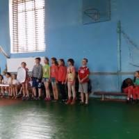 Спортивні змагання серед п'ятих класів ЗОШ I - III ст. смт Сатанів