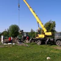 Монтаж насосного обладнання в Іванківцях (1)