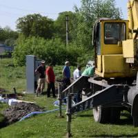 Монтаж насосного обладнання в Іванківцях (2)