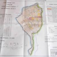 Проект Генерального плану с. Кринцілів