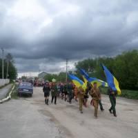Громадська панахида в с. Клинове (1)