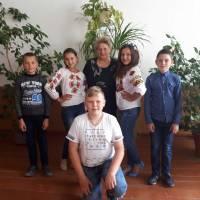 День вишиванки Клинівська ЗОШ (12)