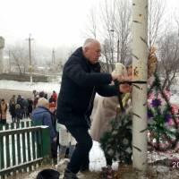 Вшанування пам'яті жертв голодомору у смт.Вовковинці 2018 р.