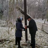 Вшанування пам'яті жертв голодомору у с.Коричинці 2018 р.