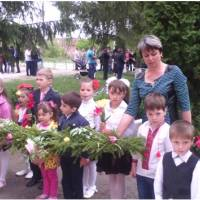 ДНЗ «Метелик» с. Залісся-2: День пам'яті та примирення (09.05.2016)