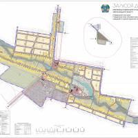 Генеральний план села Залісся Друге