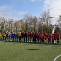 14.04.17 районні зональні змагання з міні-футболу на базі Крушанівської ЗОШ.